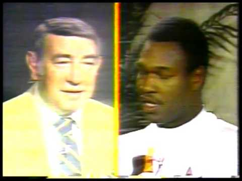 Boxing - 1980 - Special - Howard Cosell Interviews Larry Holmes + Muhammad Ali Prior To Their Fight