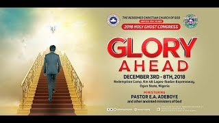 RCCG 2018 ANNUAL HOLY GHOST CONGRESS DAY 6 EVENING SESSION