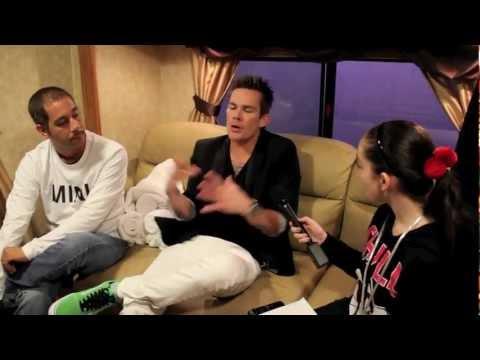 SUGAR RAY Interview w/ Pavlina Universal Studios Orlando Florida Mardi Gras