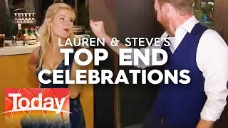 Inside Lauren and Steve's celebrations | TODAY Show Australia