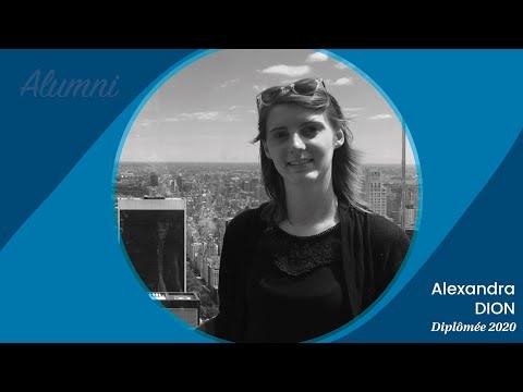 Nos Alumni témoignent - Alexandra, diplômée 2020