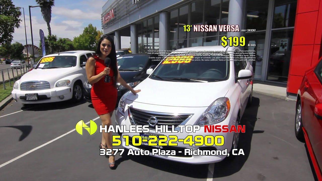 Hanlees Hilltop Nissan 30 Sec 1 - September 2014 - YouTube