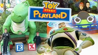 VLOG - JOUETS GÉANTS & ATTRACTIONS à TOY STORY PLAYLAND - Disneyland Paris streaming