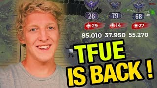 Tfue Back To Home! - Best Moments Of Twitch - H1Z1