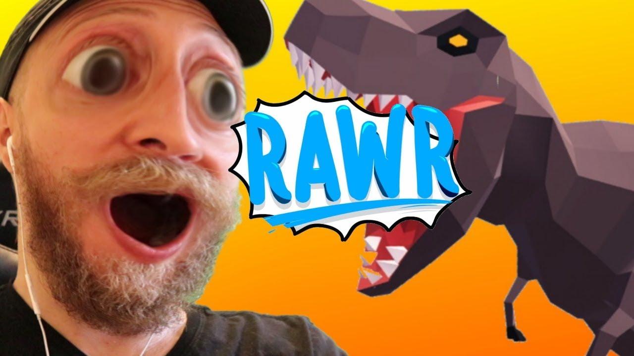 New .IO Game w DINOSAURS! - Dinosaur Rampage! image