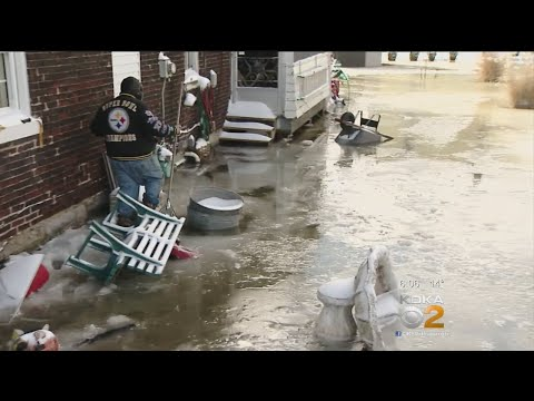 Flooding Forces Evacuations Across Allegheny County