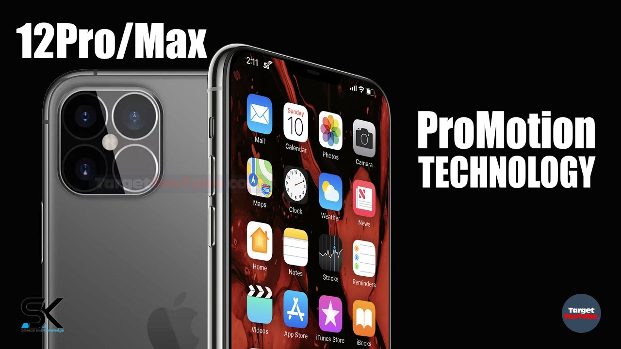 Apple iPhone 12 Pro + MAX ProMotion!