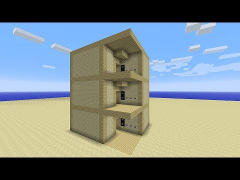 My Version.VI Multiple Floor Elevator Minecraft 1.7.1 & 1.7.9 TUTORIAL