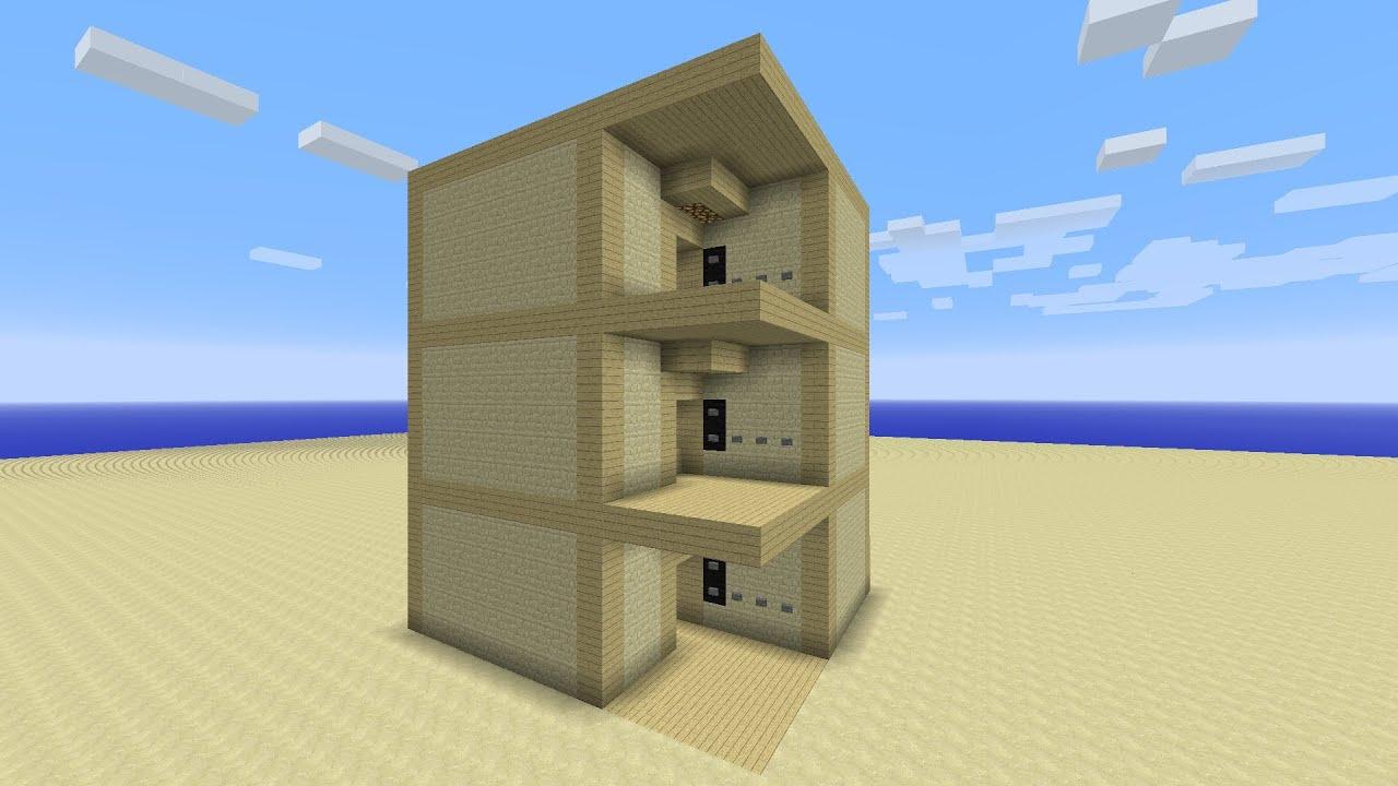 superior 2 story elevator #5: v.6 Multiple Floor Elevator Minecraft Xbox One PS4 PC 1.8+ TUTORIAL -  YouTube