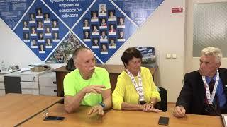 Чествование победителей и призеров IV Европейских ветеранских игр
