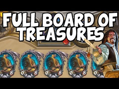 Filling The Board With Treasure Chests From Marin the Fox