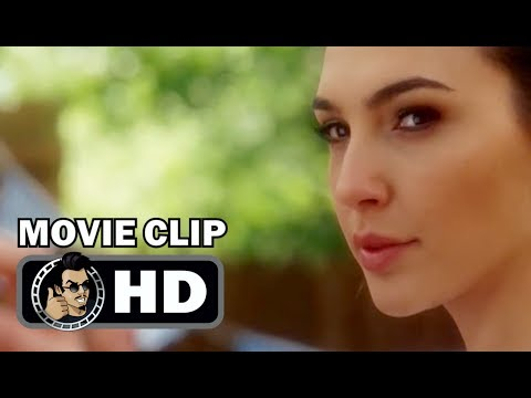 KEEPING UP WITH THE JONESES Movie Clip - Throw Like a Girl (2017) Gal Gadot Action Comedy HD