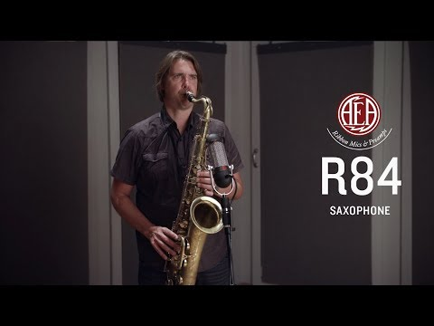 AEA R84 - Saxophone - Listening Library