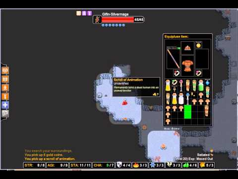Rogue's tale roguelike   Silver mage 08 stupid traders