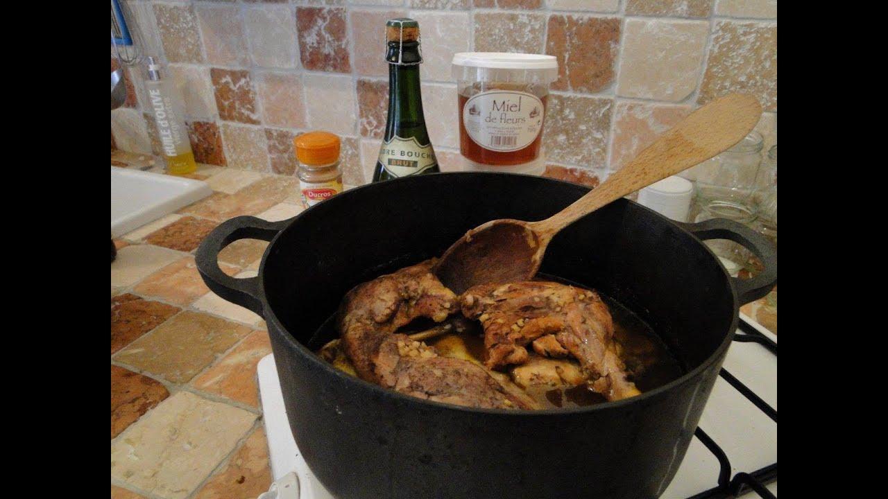 Cuisses de canard miel pices recette vid o youtube - Cuisson cuisse de canard ...