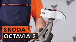 How and when to replace Bracket, stabilizer mounting SKODA OCTAVIA (1Z3): video tutorial