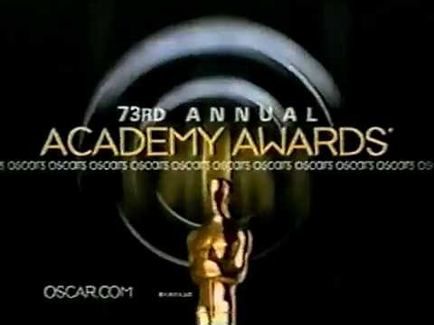February 2001 - Promo for the 73rd Academy Awards