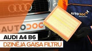 Audi A8 D2 apkope - video pamācības
