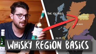 SCOTCH WHISKY REGIONS EXPLAINED - A Beginners Guide