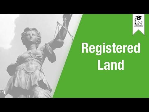 Property Law - Registered Land