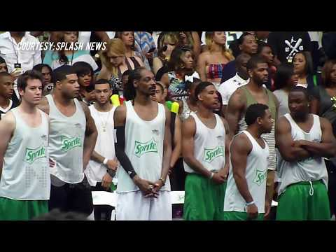 Justin Bieber Vs Chris Brown Basketball Game 2014 FULL MATCH