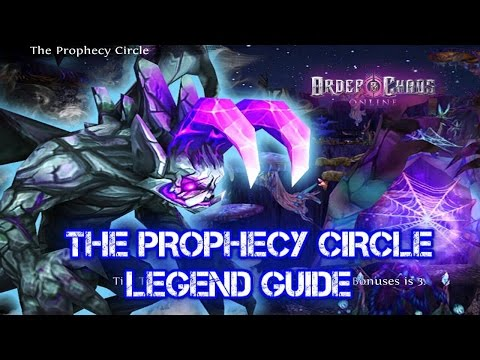 Order and Chaos online - The Prophecy Circle Legend Guide - PCL