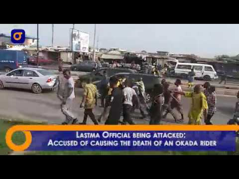 Lastma Official Severely Beaten By Lagosians