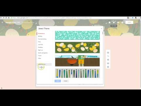 How To Customize Google Forms Templates YouTube - Free google forms templates