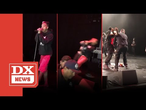 XXXTENTACION Gets Jumped On Stage In San Diego On Rob Stone's Turf & Drake Throws Shade