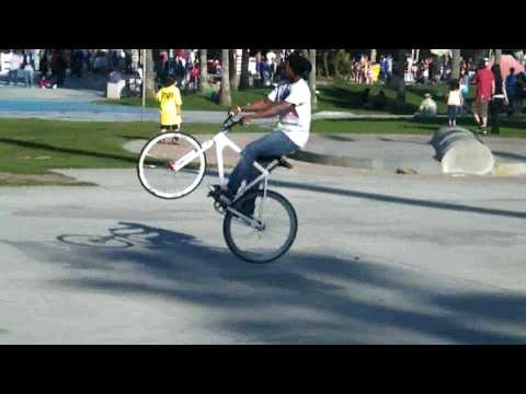 culver city fixie tricks