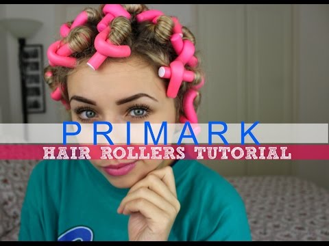 PRIMARK Hair Rollers Tutorial