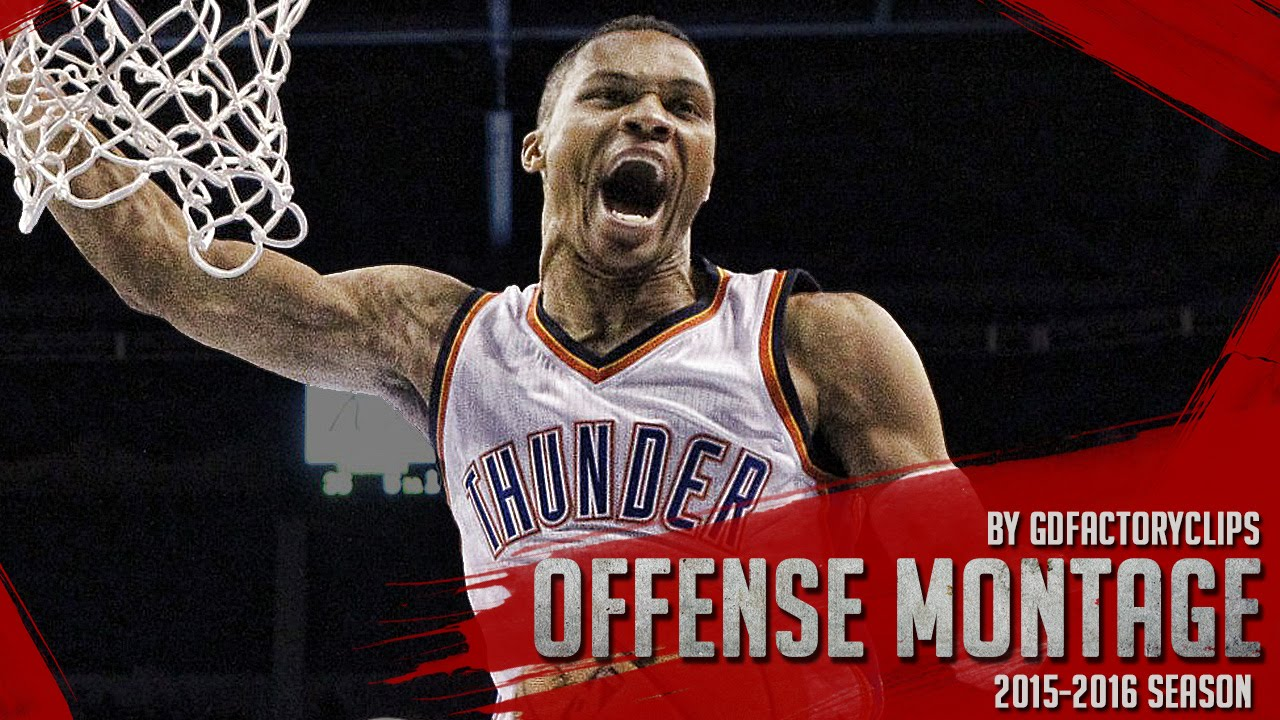 5a1862b8ddf Russell Westbrook Offense Highlights Montage 2015 2016 (Part 1) - Official  BEAST Mode! - YouTube