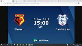 วัตฟอร์ด vs  คาร์ดิฟ วิเคราะห์บอล พรีเมียร์ลีก อังกฤษ