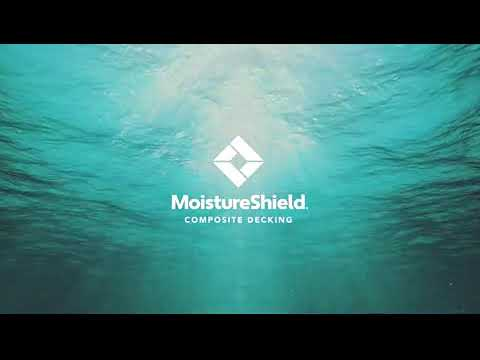 Moistureshield Decking CoolDeck Technology