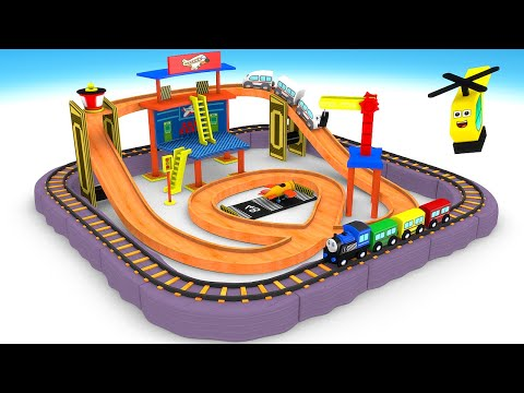 chu chu train - train cartoon for kids - toy videos for kids - choo choo Train kids videos