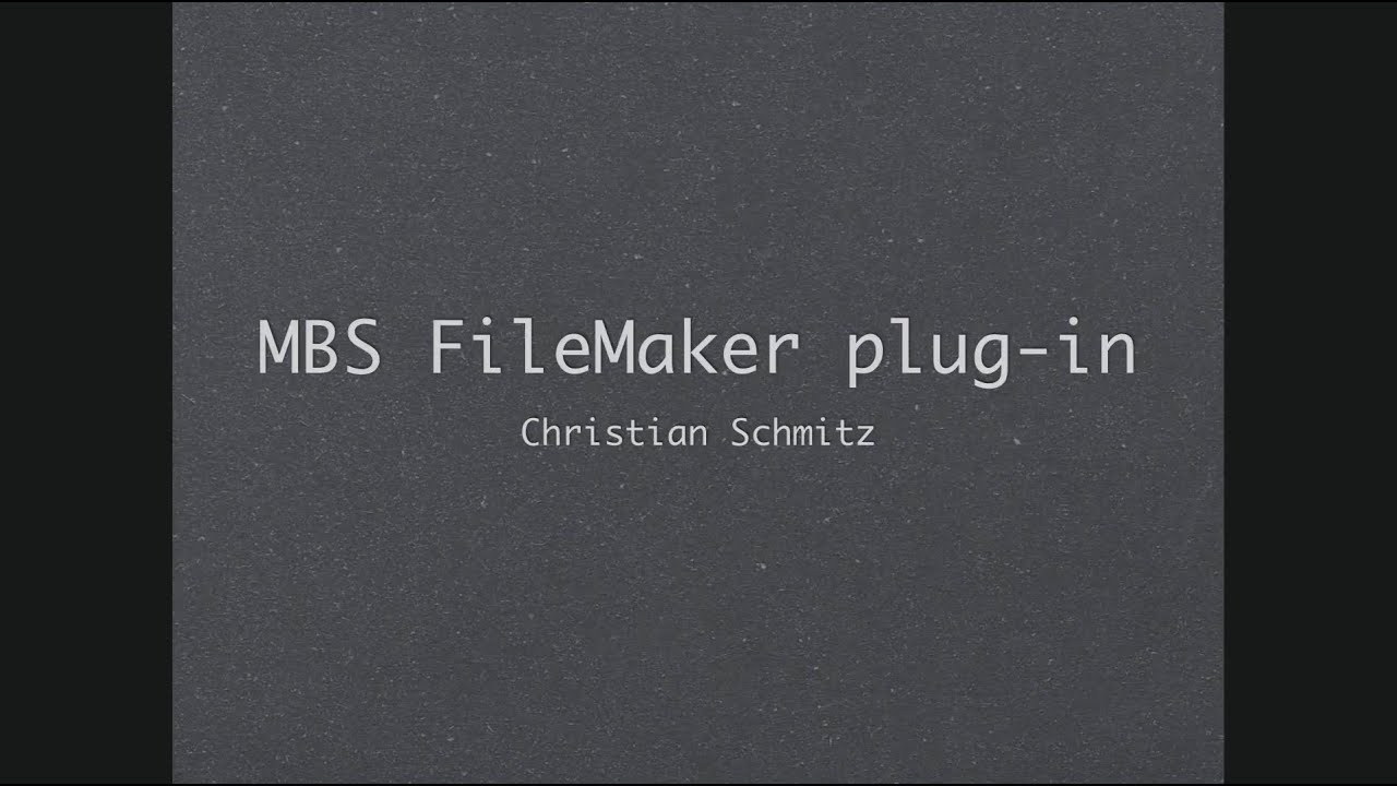 filemaker mbs plugin installieren