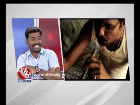 V6 Telangana Song Lyricist And Singer Mittapalli Surender    V6 News