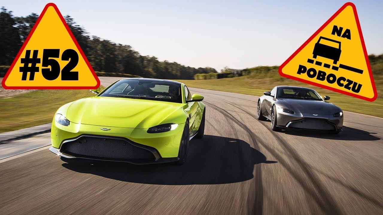 Aston Martin Vantage, Ursus ELVI, Robert Kubica – #52 NaPoboczu
