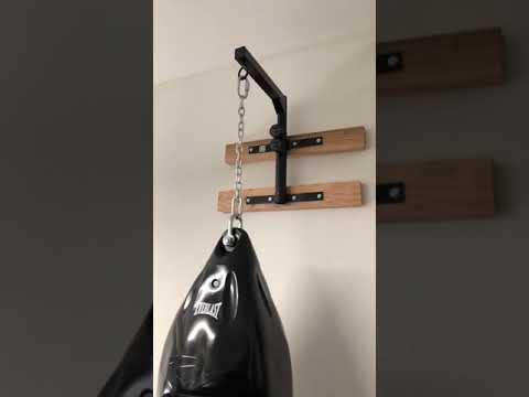 Review Yes4all Wall Mount Heavy Bag Hanger Youtube