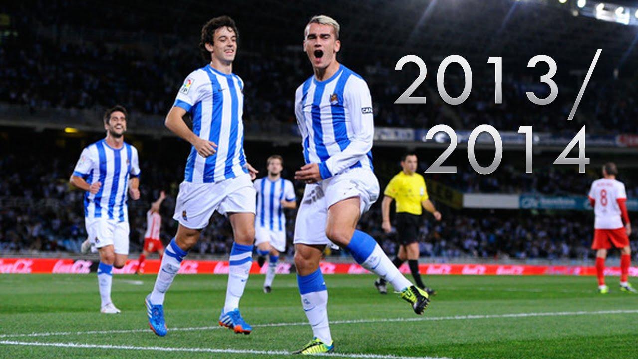 quality design b7615 49736 Antoine Griezmann • Goals 2013/14 • Real Sociedad • HD