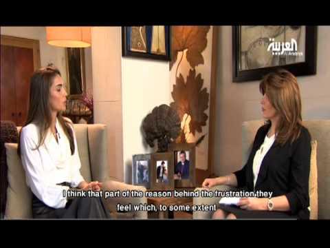 Queen Rania Interview with Al Arabiya - Part 1 (English Subtitles)