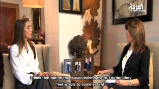 Queen Rania Interview with Al Arabiya - Part 1 (English Subtitles)