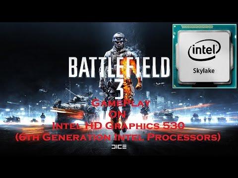 Battlefield 3 Gameplay on Intel HD Graphics 530 (6th Gen Intel i5 Processor)
