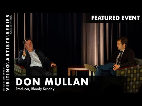 Don Mullan, Author, Activist, Producer Discusses BLOODY SUNDAY