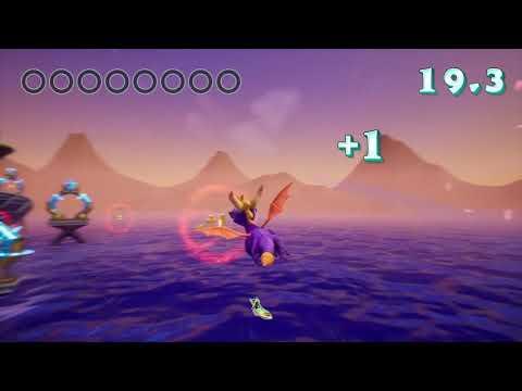 Spyro-Ocean Speedway 100%
