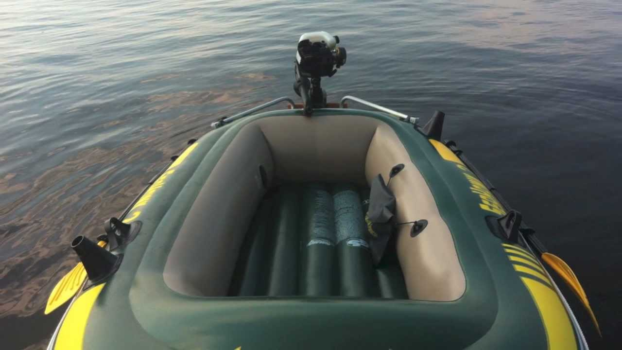 Introducing the new micro outboard youtube for Small boat motors cheap