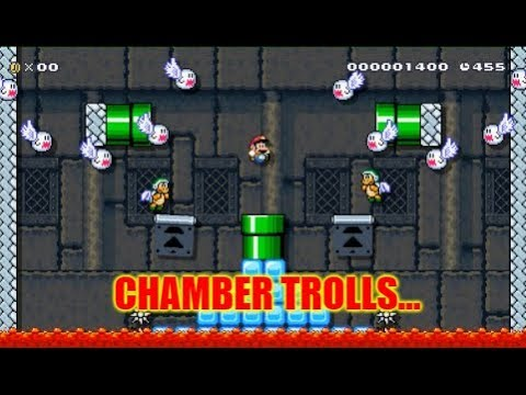 Super Mario Maker Chamber Trolls . A Troll Level With One Room That Seemed Impossible!