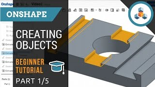 beginner tutorial 1 5 onshape 3d cad creating sketches and objects