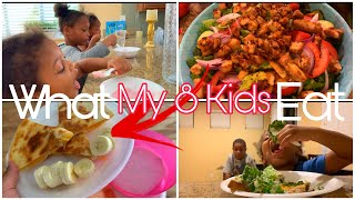 Download WHAT MY 8 KIDS EAT IN A DAY  REALISTIC MEALS Mp3 and Videos