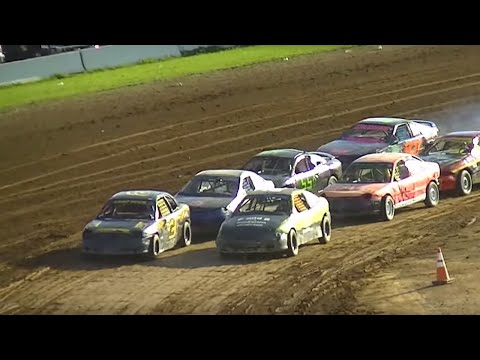 Mini Stock Heat Three | McKean County Raceway | Fall Classic | 10-10-15